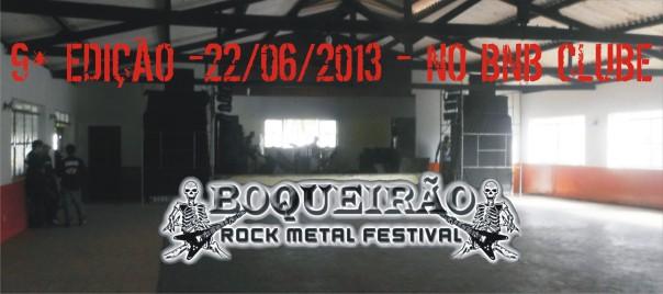 Data e local confirmados para a 9° edição do Boqueirão Festival.